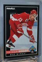1992-93 Pinnacle #230 Viacheslav Kozlov Rookie RC Detroit Red Wings