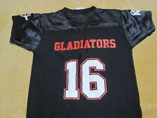 Cleveland Gladiators AFL Arena Football League SGA Jersey Youth M 10/12 NWOP HTF