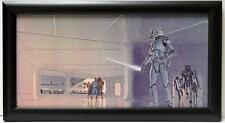Star Wars LUKE LEIA HAN CHEWBACCA STORMTROOPERS FRAMED CONCEPT PRINT McQuarrie