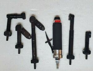 (NEW) Jiffy Air Tool straight drill 3000rpm w BRAND NEW MODULE HEAD ATTACHMENTS