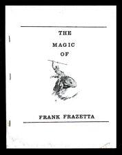 Frazetta Art - 1971 The Magic Of Frank Frazetta ( Rare Early Publication )