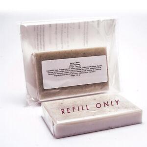 Alphy&becs Refill Shaving Soap With VitaminE & Jojoba Oil Handmade In UK 100g