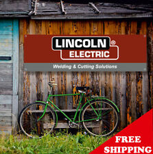 LINCOLN ELECTRIC Banner Vinyl or Canvas Advertising Garage Sign Poster MANY SIZE