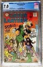Green Lantern #66; Silver Age; CGC 7.0