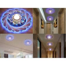 Modern New Crystal LED Ceiling Light Fixture Pendant Lamp Lighting Chandelier