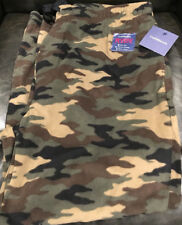 Croft & Barrow CAMOUFLAGE Black Men's Extra Large Lounge Pants  / NEW