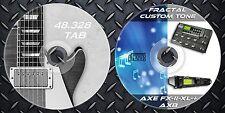 4.731 Patches FRACTAL Axe-FX II,Axe-FX II XL,Axe-FX II XL+, AX8-48.000 Tablature