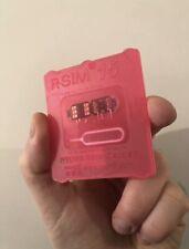 R-SIM15 + Nano Unlock RSIM Card LOT iPhone 11 Pro Max X Xr Xs iOS14 UK Seller