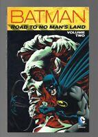 Batman The Road to No Man's land TPb Vol 2 First print New Mint DC Gotham