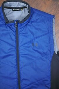 Under Armour Insulated Vest Jacket Blue Black Men's 2XL XXL