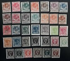 RARE 1902- Spanish Guinea lot of 26 postage stamps Mint / Used