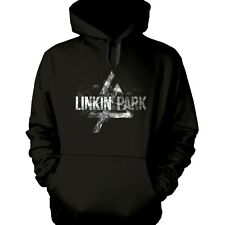 More details for linkin park - smoke logo official licensed pullover hoodie