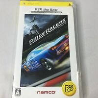 Sony PSP Ridge Racers Japan Import Video Game Namco Racing The Best