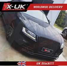 RS5 style front grill gloss black for Audi A5/S5 2007-2012