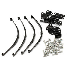 Stainless Steel 120mm Leaf Springs Shackles Mounts Trail Finder for RC4WD D90 1
