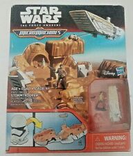 Star Wars: The Force Awakens Micro Machines First Order Stormtrooper Playset