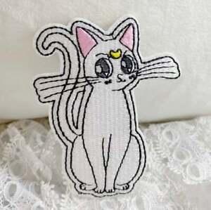 Iron on Patch:Luna Cat Sailor moon Anime cat-A3