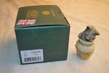 New Harmony Kingdom Jardinia Treasure Jests Stash Box Cat Jar Figurine Nib W/Box