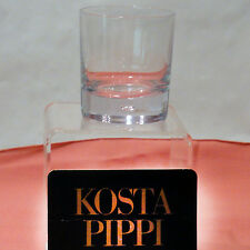 "Kosta Boda PIPPI OLD FASHIONED 3.2"" tall made in Sweden NEW IN BOX NEVER USED"