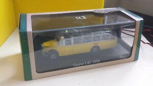 1/43  BUS COLLECTION  SAURER  L4C  1959 SUISSE  PRESSE