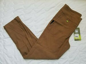 1 NWT SWING CONTROL WOMEN'S PANTS, SIZE: 12, COLOR: DARK CAMEL (J192)
