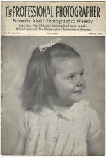 June 20, 1937 Issue of The Professional Photographer - Camera Photography Photo
