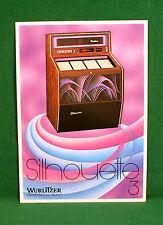 Original Wurlitzer Silhouette 3 Jukebox Brochure