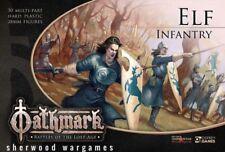 28mm Elf Infantry For Oathmark Mass Battle Fantasy Rules. D&D, Kings Of War