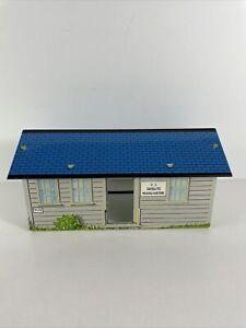 Vintage Marx Satellite Space HEADQUARTERS 1950s Tin RARE TI 12 Hut House Base