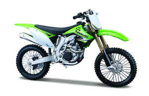 Kawasaki KX 450 F scale 1:12 Motorcycle Model From Maisto