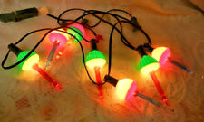Vintage Christmas Tree Bubble Lights 6 Foot Light String Set