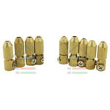 9pc 3.17/2.3mm  Motor Shaft Mini Copper Drill Chuck Clamp Collet Tool