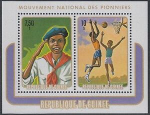 Guinea Mi.Nr. Block 37A Nat. Pfadfinderbeweung, postfrisch