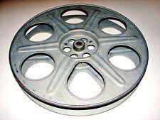"Original 35mm MOVIE THEATER CINEMA FILM REEL Goldberg Bros Denver 14.5"" Metal"