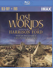 LOST WORLDS  (BLU RAY DVD COMBO) Narrated by HARRISON FORD aka INDIANA JONES