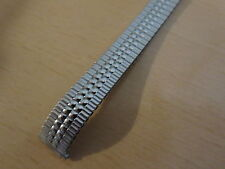 NEW LADIES SPEIDEL WATCH BAND 10-13 MM  BEADS OF RICE  WHITE  EXPANSION