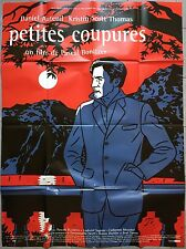 Affiche PETITES COUPURES Pascal Bonitzer KRISTIN SCOTT THOMAS Floc'h 120x160 b *