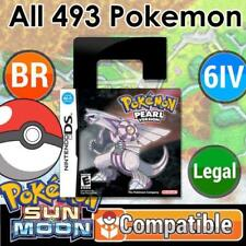 Unlocked Pokemon Pearl | All 493 Shiny Pokemon + Max Items | DS 3DS
