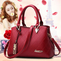 Fashion Women's Casual Shoulder Bag PU Leather Handbag Satchel Messenger Bags