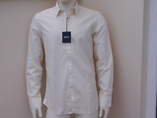 BNWT Mens DKNY classic cotton rounded hem formal dress shirt 7 SIZES 6 COLOURS