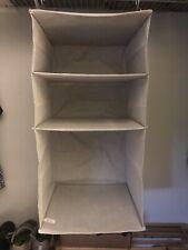 New listing 3 Shelf Hanging Fabric Storage Organizer Light Gray - Target Made By Design