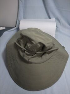 Sun Protection Zone Adult unisex 50+ UPF Outdoor Wide Brim Hat Green