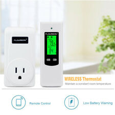 Portable Wireless RF Plug In Thermostat Heating&Cooling Temperature Controller