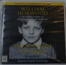 AUDIO BOOK THE BOY WITH NO SHOES WILLIAM HORWOOD 12 CD BY GARETH ARMSTRONG