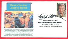 "Charlton Heston in ""Planet of the Apes"" FDC April 11, 2014 Legends of Hollywood"