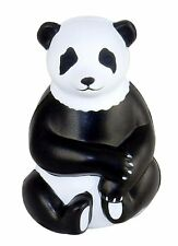 Sitting Panda Shaped Stress Relief Squeezable Toy - Case pack of 30 units.