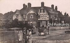 More details for wendover, shoulder of mutton or railway hotel - photo postcard (ref 3986/20/i)