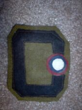 "WWI US Army patch Third Army Air Service ""C"" Aero Aviation Unit Patch"