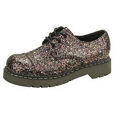 Anarchique par T.U.K. 3 eye gibson chaussures multi color bloc paillettes UK5 / eu38
