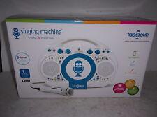 Singing Machine Tabeoke Portable Bluetooth Karaoke System - New in Box